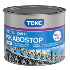 Грунт-эмаль по ржавчине РжавоStop ТЕКС коричневый 2,0 кг