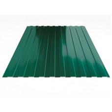 Профнастил полимер С8 0,4мм (1,2*2,0м) зеленый мох RAL6005, шт