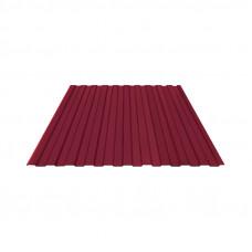 Профнастил полимер С8 0,4мм (1,2*2,0м) красное вино RAL3005, шт