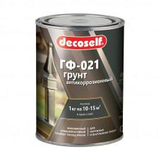 Грунт ГФ-021 красно-коричневая (0,9кг) ПУФАС Decoself